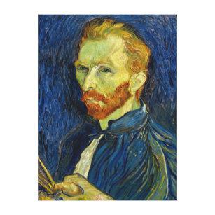 5764075dcf9 Impressão Em Tela Retrato de auto de Vincent van Gogh com paleta