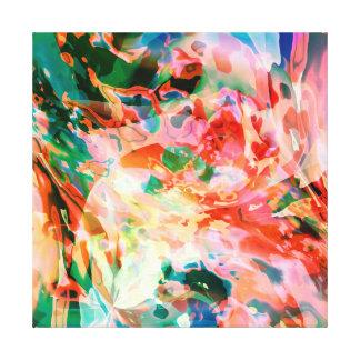 Impressão Em Tela Rio fluido das cores