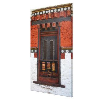 Impressão Em Tela Rodas de oração no templo