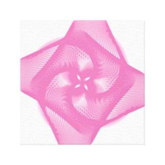 Impressão Em Tela rosa