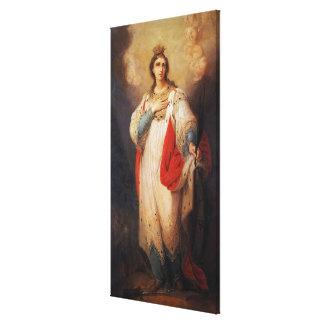 Impressão Em Tela Santo Catherine