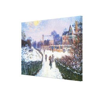 Impressão Em Tela Santo Denis Argenteuil do bulevar por Claude Monet