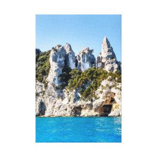 Impressão Em Tela Sardinia, costa leste, perto de Cala Gonone