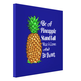 Impressão Em Tela Seja um desgaste que alto do suporte do abacaxi