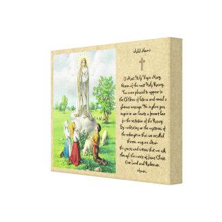 Impressão Em Tela Senhora do presente do católico da arte da parede