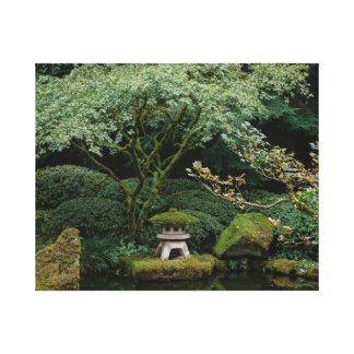 Impressão Em Tela Serenidade em um jardim japonês