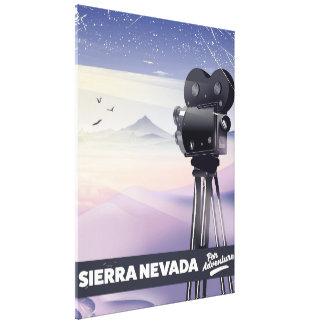 Impressão Em Tela Serra poster de viagens de Nevada