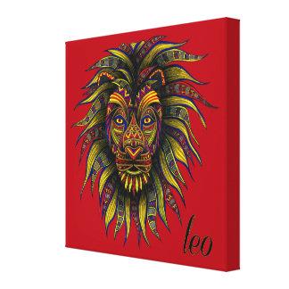 Impressão Em Tela Símbolo de Leo