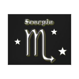 Impressão Em Tela Símbolo do cromo da Escorpião