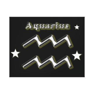 Impressão Em Tela Símbolo do cromo do Aquário