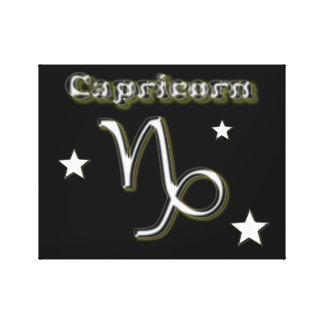 Impressão Em Tela Símbolo do cromo do Capricórnio