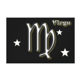 Impressão Em Tela Símbolo do cromo do Virgo