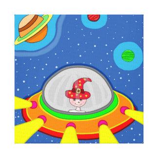 Impressão Em Tela Simon e a nave espacial