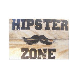 Impressão Em Tela Sinal do hipster!