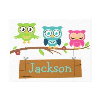 Impressão Em Tela Sinal personalizado para crianças