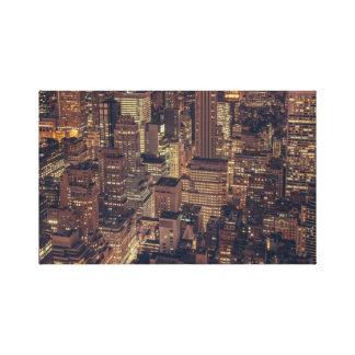 Impressão Em Tela Skyline da cidade de Chicago Illinois do vintage