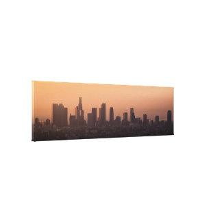 Impressão Em Tela Skyline do nascer do sol