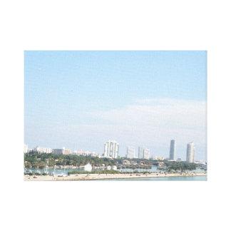 Impressão Em Tela Skyline lindo de Miami