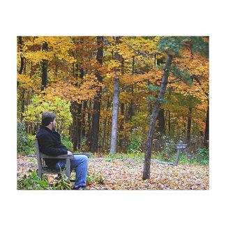 Impressão Em Tela Sonho do dia do outono