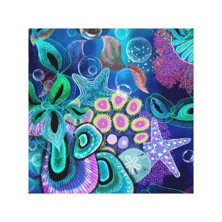 Impressão Em Tela Sonho do oceano