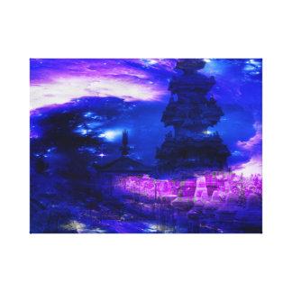 Impressão Em Tela Sonhos Amethyst de Bali da safira