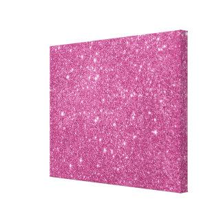 Impressão Em Tela Sparkles do brilho do rosa quente