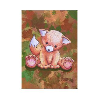 Impressão Em Tela Sr. Fox