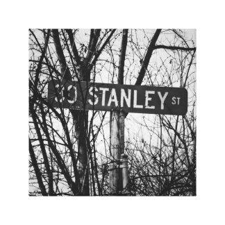 Impressão Em Tela St. de Stanley