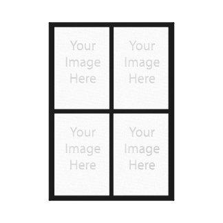Impressão Em Tela Suas 4 fotos feitas sob encomenda…
