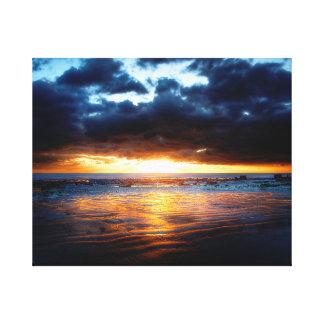 Impressão Em Tela Sun, mar & areia