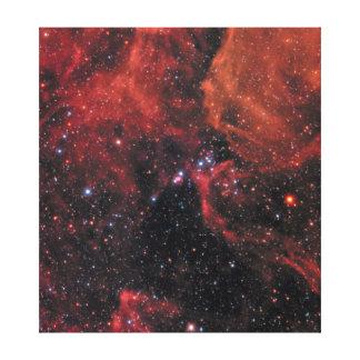 Impressão Em Tela Supernova