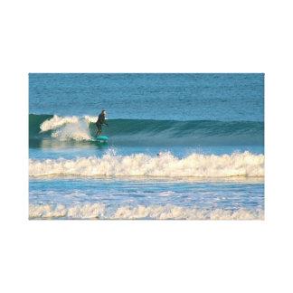 Impressão Em Tela Surf da água fria