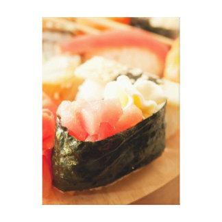 Impressão Em Tela sushi