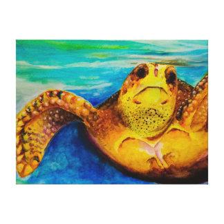 Impressão Em Tela Tartaruga de mar da boba