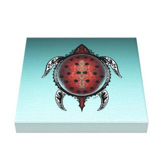 Impressão Em Tela Tatuagem da tartaruga da fantasia