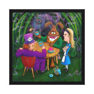 Impressão Em Tela Tea party de Alice