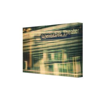 Impressão Em Tela Teatros Romanos