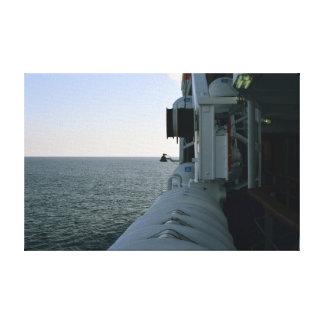 Impressão Em Tela Tela crepúsculo/barco