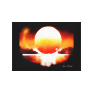 Impressão Em Tela Tela- Pôr-Do-Sol