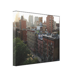 Impressão Em Tela Telhados de New York