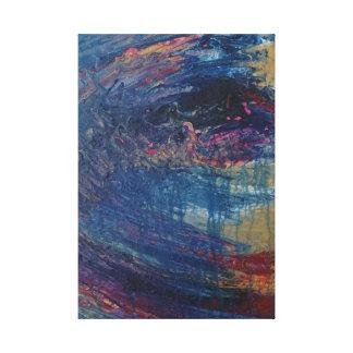 Impressão Em Tela Tempestade do mar