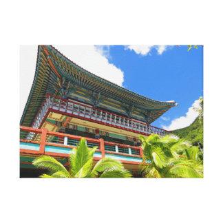 Impressão Em Tela Templo budista coreano