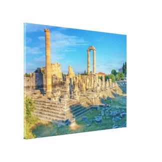 Impressão Em Tela Templo de Apollo