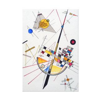 Impressão Em Tela Tensão delicada de Wassily Kandinsky
