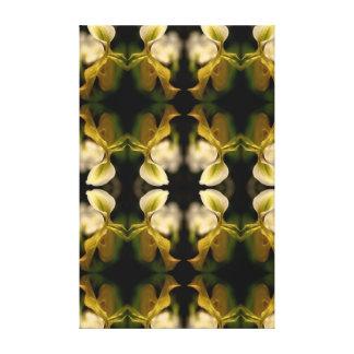 Impressão Em Tela Teste padrão da orquídea