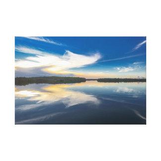 Impressão Em Tela The Amazon landscapes - Rio Negro