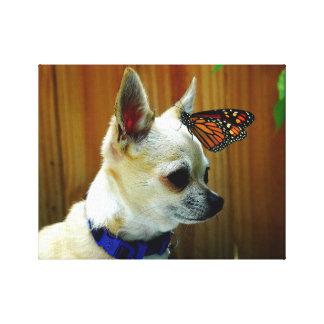 Impressão Em Tela Tito e sua borboleta