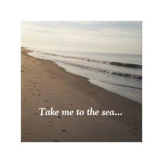 Impressão Em Tela Tome-me ao mar