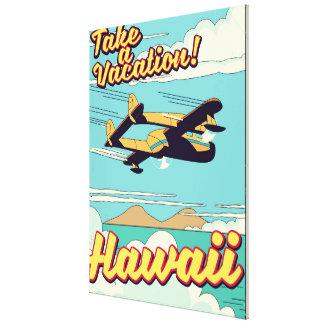 Impressão Em Tela Tome umas férias! Desenhos animados do viagem de