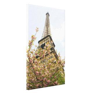 Impressão Em Tela Torre Eiffel, Paris
